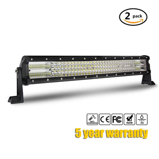 Barra de luces LED para techo de 4 hileras 9643D